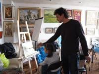 Это стоит посетить. В Киеве пройдет мастер-класс по написанию картин маслом и выставка иллюстраций к новой детской книге