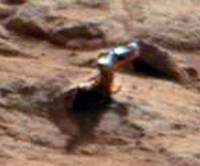 Curiosity нашел на Марсе очередной загадочный объект