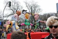 В Дюссельдорфе любители юмора жестоко «прошлись» по Путину, Меркель и остальным политикам