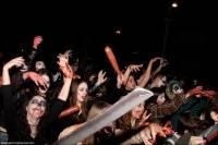 Любители ужастиков оторвались по полной. Тель-Авив буквально атаковали «зомби»