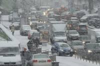 Плохие новости для Киева: снегопад продлится еще два дня; из всех регионов Украины в столице — наихудшая ситуация