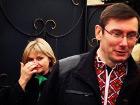 На свободу Луценко вышел с гордо поднятой головой и в вышиванке