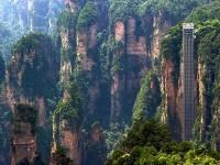 Лифт ста драконов в Китае – самый высокий открытый подъемник в мире