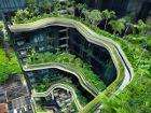 Прямо Пандора какая-то. В Сингапуре научились не только строить небоскребы, но и делать это в гармонии с природой