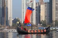 Не пропустите. 15 мая в Киеве покажут настоящую ладью IX-XI веков