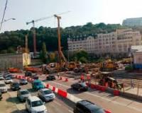 Свершилось. В Киеве открыто автомобильное движение по эстакаде на Почтовой площади