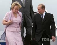 Не пара. Редкие фото уже распавшейся семьи Путиных