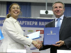 НОК Украины и ЮНИСЕФ подписали меморандум о взаимопонимании