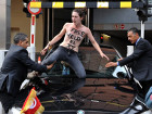 FEMEN атаковали автомобиль из кортежа премьер-министра Туниса