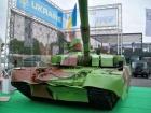 В Харькове представили первый танк «Оплот», сделанный для Таиланда. Осталось еще 48