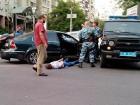 «Успели скинуть?» В центре Киева «Беркут» провел задержание со стрельбой и погоней