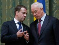 Медведев и Азаров обсудили, как бы создать «зерновой ОПЕК». Но так ничего конкретного и не придумали