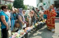 Как украинцы сегодня Медовый Спас отмечали. Фоторепортаж с места событий