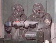 Сирийская армия нашла в лагере повстанцев ингредиенты для создания химического оружия