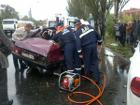 ДТП с тремя автомобилями на Луганщине стоило жизни одному человеку и здоровья – девятерым