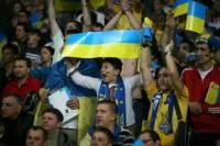 Сумасшедшая поддержка сборной Украины. Фоторепортаж с трибун «Олимпийского»