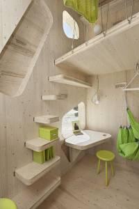 Все удобства на десяти квадратных метрах. Дизайнеры создали домик, которым может стать идеальным вариантом для дачи