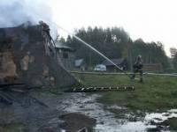 В пожаре в психбольнице под Новгородом погибли 37 человек