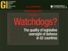 В рейтинге качества парламентского надзора за военными бюджетами Украина оказалась в достойной компании
