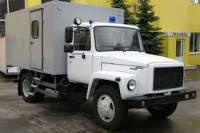 В Киеве на ходу загорелся автозак, перевозивший 15 арестантов