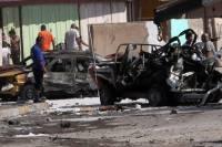 В пригороде Багдада одновременно взорвали около 20 заминированных автомобилей