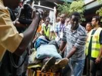 Опубликовано видео нападения боевиков на торговый центр в Кении
