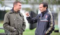 Шева, видимо, решил всерьез заняться тренерской работой. Не зря ведь он побывал на тренировочной базе «Милана»