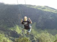 «Качели на краю света» раскачивают туристов на высоте 2660 метров