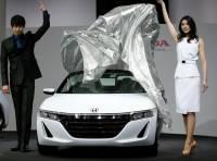 Автомобили будущего на автосалоне в Токио. Фоторепортаж с места событий
