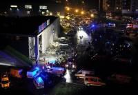 В Риге полностью разрушился торговый центр. Погибли более 20 человек