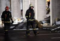 Обрушение торгового центра в Риге. Фото с места событий