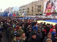 Похоже, Евромайдан выходит на новый уровень. Украинские города продолжают присоединяться к акции