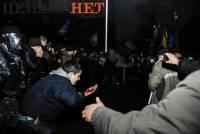 Сегодняшний Евромайдан глазами фотографов. Часть 3 (детализация драки)