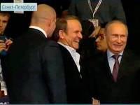 Путин и Медведчук встретились на мировом первенстве по самбо