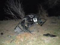 На суровой Николаевщине BMW слетел в кювет и врезался в дерево. Без жертв, увы, не обошлось