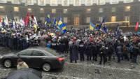Здание Кабмина Украины взято под усиленную охрану