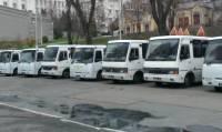 Подходы к АП охраняют более 20 автобусов с милицией. Даже «скорую» подогнали на всякий случай