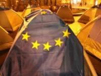 В Днепропетровске неизвестные разгромили палаточный городок. Милиция открыла уголовное производство