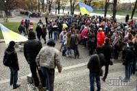 Евромайдан в Ужгороде глазами очевидцев. Фоторепортаж с места событий