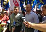 Украинская оппозиция извинилась перед спикером литовского Сейма. И призвала сделать то же самое Рыбака, Кожару и Януковича