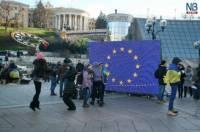Евромайданы в регионах: юмор в Одессе, креатив в Харькове и чай от мэра во Львове