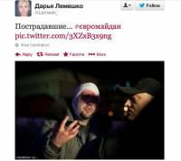 Видео разгона Евромайдана: такого кошмара Украина еще не видела