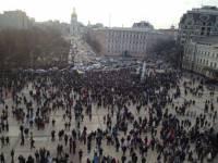 На Михайловской 5 тысяч человек скандируют «Хама на Елку!», «Революция!» и готовят отряды самообороны