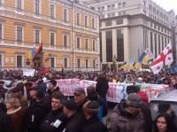 Митингующие вновь заняли Майдан Независимости. Как это было