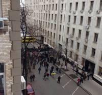 Двор КМУ заняли сотни бойцов спецназа. А СМИ пишут о штурме улицы Банковой и блокировании здания КГГА