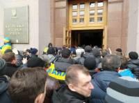 Молодчики из «Свободы» ворвались в Дом профсоюзов на Майдане