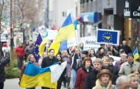 Мир встал в поддержку Евромайдана. Фоторепортаж с места событий