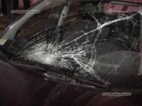 В Киеве Ford снес на «зебре» двоих милиционеров