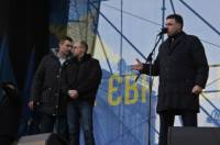 Ну надо же. К приходу оппозиции в АП не оказалось ни Януковича, ни Левочкина