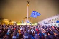 Яценюк и Кличко привели на Майдан главу МИД Германии